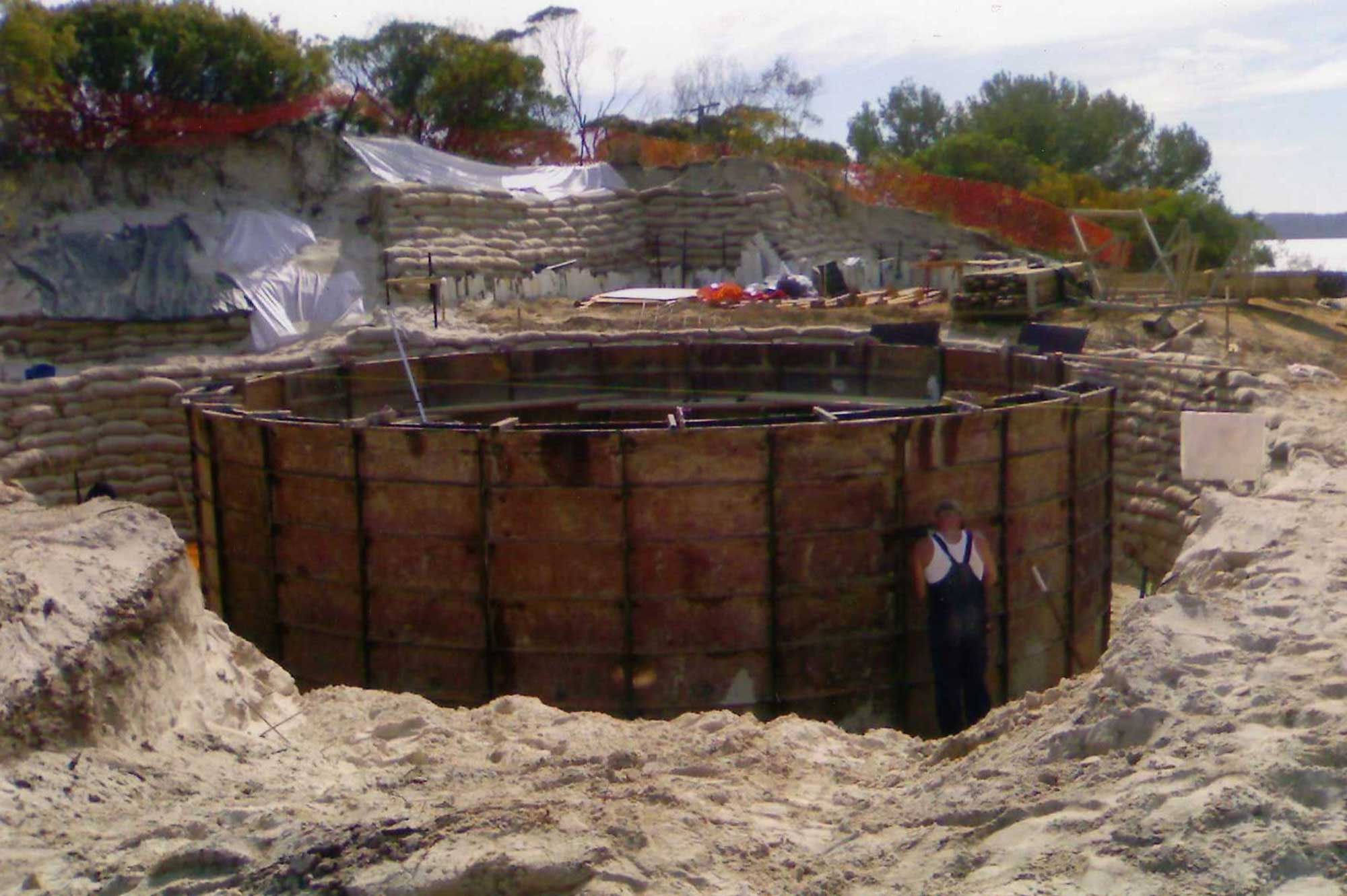 underground concrete tanks South Australia